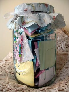 Project 2014 In A Jar Happiness Positivity Thankfulness Kooklah